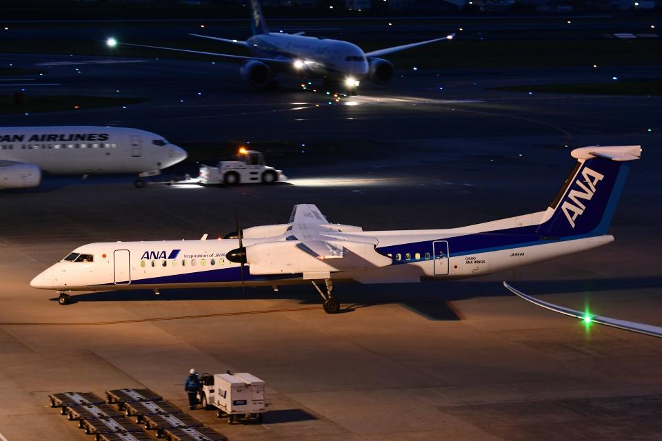 TOPAZ102さんのANAウイングス Bombardier DHC-8-400 (JA844A) 航空フォト