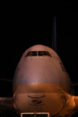 えむでぃ〜さんが、北九州空港で撮影した大韓航空 747-4B5F/ER/SCDの航空フォト(飛行機 写真・画像)