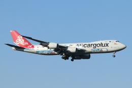 mogusaenさんが、成田国際空港で撮影したカーゴルクス 747-8R7F/SCDの航空フォト(飛行機 写真・画像)