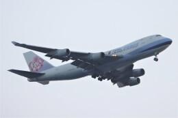 JUTENさんが、中部国際空港で撮影したチャイナエアライン 747-409F/SCDの航空フォト(飛行機 写真・画像)