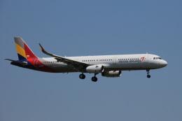 アルビレオさんが、成田国際空港で撮影したアシアナ航空 A321-231の航空フォト(飛行機 写真・画像)