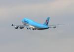 ふじいあきらさんが、羽田空港で撮影した大韓航空 747-4B5F/SCDの航空フォト(写真)