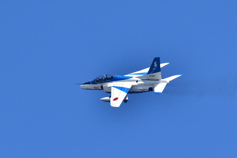 フォト太郎さんの航空自衛隊 Kawasaki T-4 (16-5663) 航空フォト