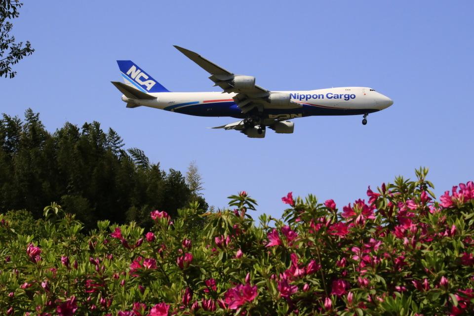 ☆ライダーさんの日本貨物航空 Boeing 747-8 (JA11KZ) 航空フォト