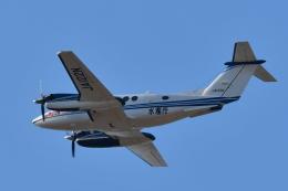 こつぽんさんが、仙台空港で撮影した中日本航空 B200 Super King Airの航空フォト(飛行機 写真・画像)