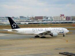 まいけるさんが、福岡空港で撮影した全日空 777-281の航空フォト(飛行機 写真・画像)