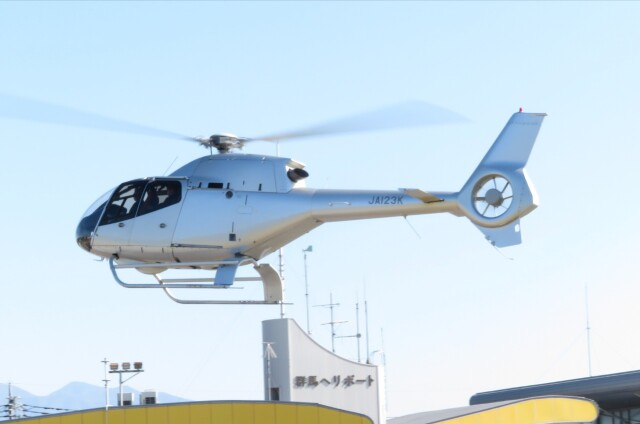 redarrowさんが、群馬ヘリポートで撮影した日本法人所有 EC120B Colibriの航空フォト(飛行機 写真・画像)