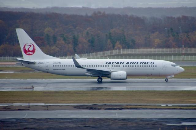 JA8943さんが、新千歳空港で撮影した日本航空 737-846の航空フォト(飛行機 写真・画像)