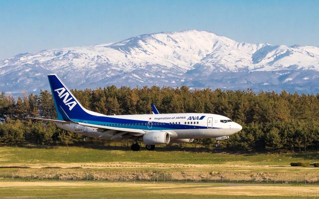 ひげじいさんが、庄内空港で撮影した全日空 737-781の航空フォト(飛行機 写真・画像)