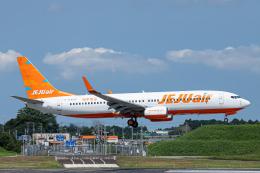 SGR RT 改さんが、成田国際空港で撮影したチェジュ航空 737-86Jの航空フォト(飛行機 写真・画像)