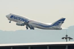 naveさんが、関西国際空港で撮影したナショナル・エアラインズ 747-412(BCF)の航空フォト(飛行機 写真・画像)