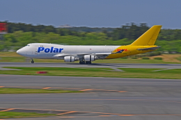 Souma2005さんが、成田国際空港で撮影したポーラーエアカーゴ 747-46NF/SCDの航空フォト(飛行機 写真・画像)