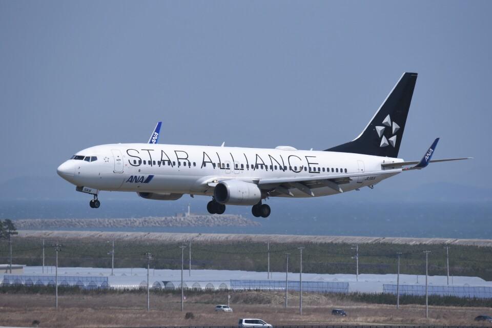 kumagorouさんの全日空 Boeing 737-800 (JA51AN) 航空フォト