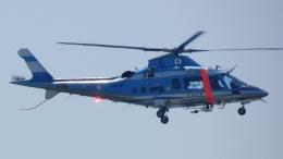 cathay451さんが、神戸空港で撮影した兵庫県警察 A109E Powerの航空フォト(飛行機 写真・画像)