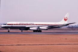 パール大山さんが、伊丹空港で撮影した日本航空 DC-8-62Hの航空フォト(飛行機 写真・画像)
