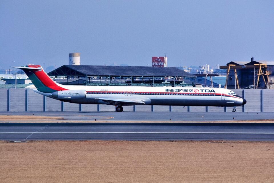 パール大山さんの東亜国内航空 McDonnell Douglas MD-80 (DC-9-80) (JA8460) 航空フォト