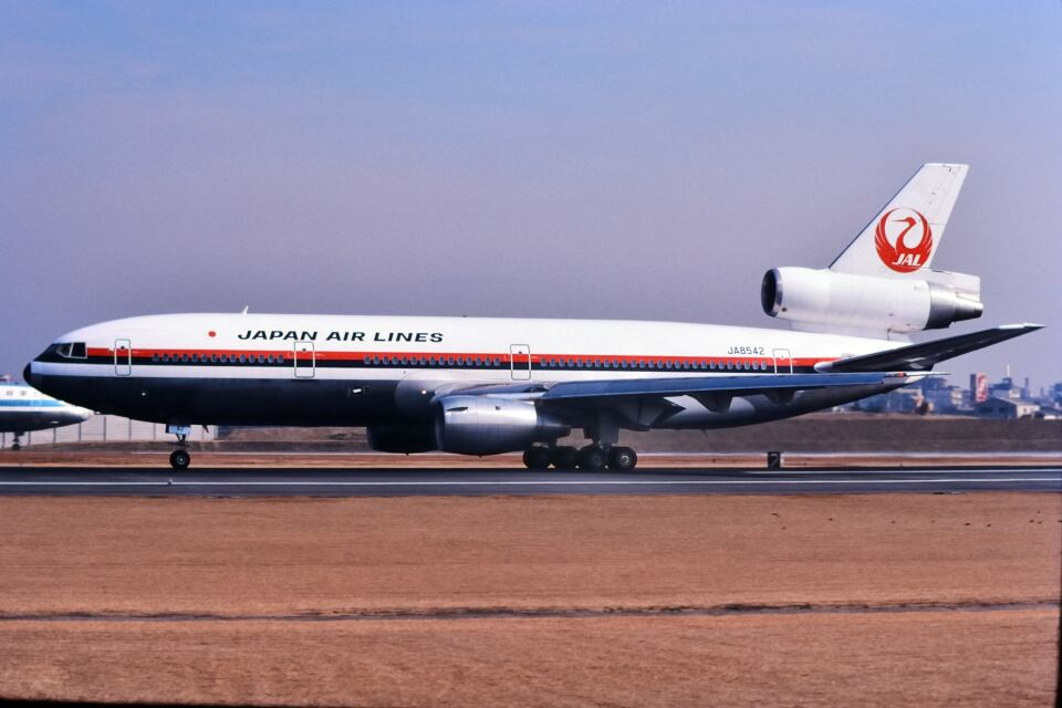 パール大山さんの日本航空 McDonnell Douglas DC-10 (JA8542) 航空フォト