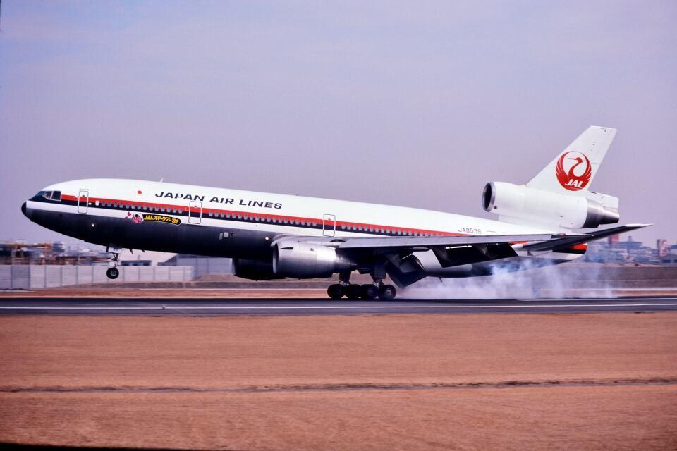 パール大山さんの日本航空 McDonnell Douglas DC-10 (JA8536) 航空フォト