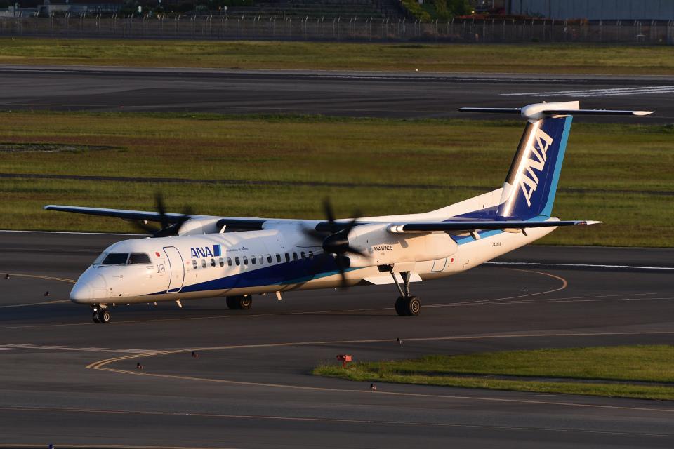 TOPAZ102さんのANAウイングス Bombardier DHC-8-400 (JA461A) 航空フォト