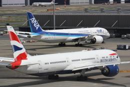 西麻布と焼売弁当さんが、羽田空港で撮影したブリティッシュ・エアウェイズ 787-9の航空フォト(飛行機 写真・画像)
