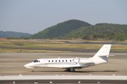 LEVEL789さんが、岡山空港で撮影したノエビア 680 Citation Sovereignの航空フォト(飛行機 写真・画像)