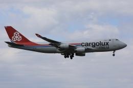 sky-spotterさんが、成田国際空港で撮影したカーゴルクス・イタリア 747-4R7F/SCDの航空フォト(飛行機 写真・画像)