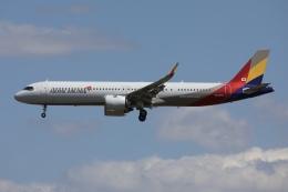 sky-spotterさんが、成田国際空港で撮影したアシアナ航空 A321-251NXの航空フォト(飛行機 写真・画像)