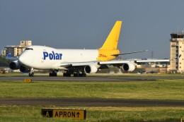 デルタおA330さんが、横田基地で撮影したポーラーエアカーゴ 747-46NF/SCDの航空フォト(飛行機 写真・画像)
