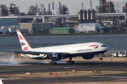 344さんが、羽田空港で撮影したブリティッシュ・エアウェイズ 777-336/ERの航空フォト(飛行機 写真・画像)