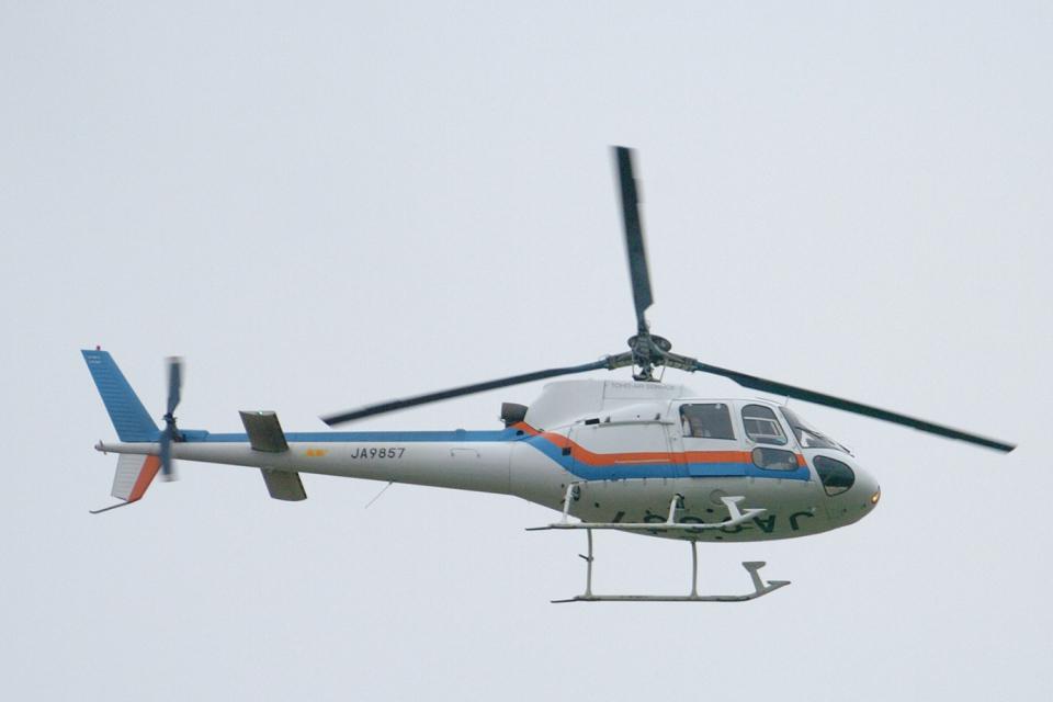 senyoさんの東邦航空 Aerospatiale AS350 Ecureuil/AStar (JA9857) 航空フォト