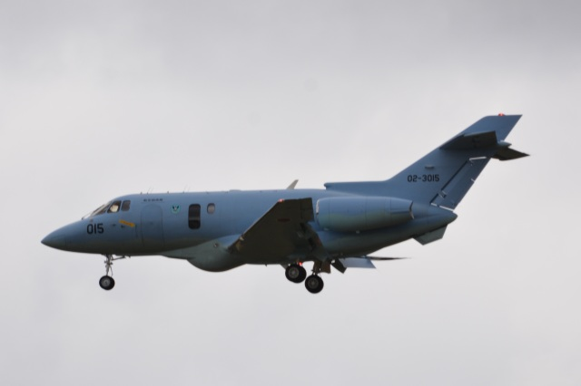 LEGACY-747さんが、茨城空港で撮影した航空自衛隊 U-125A(Hawker 800)の航空フォト(飛行機 写真・画像)