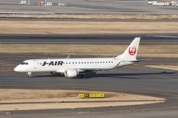 344さんが、羽田空港で撮影したジェイエア ERJ-190-100(ERJ-190STD)の航空フォト(飛行機 写真・画像)