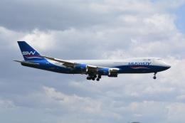 LEGACY-747さんが、成田国際空港で撮影したシルクウェイ・ウェスト・エアラインズ 747-83QFの航空フォト(飛行機 写真・画像)