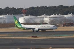 344さんが、成田国際空港で撮影した春秋航空日本 737-86Nの航空フォト(飛行機 写真・画像)