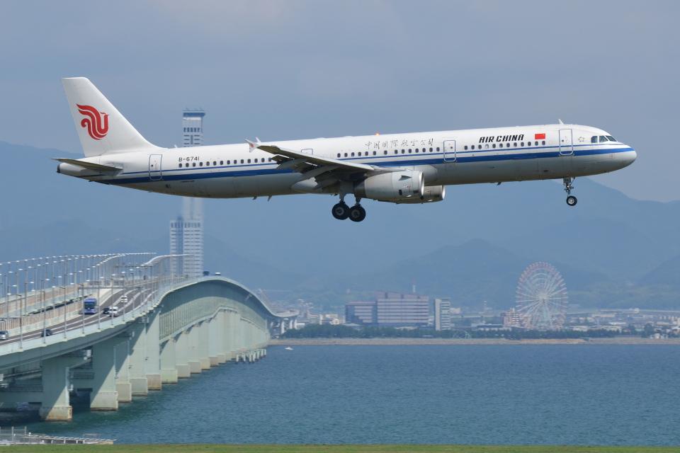 Deepさんの中国国際航空 Airbus A321 (B-6741) 航空フォト