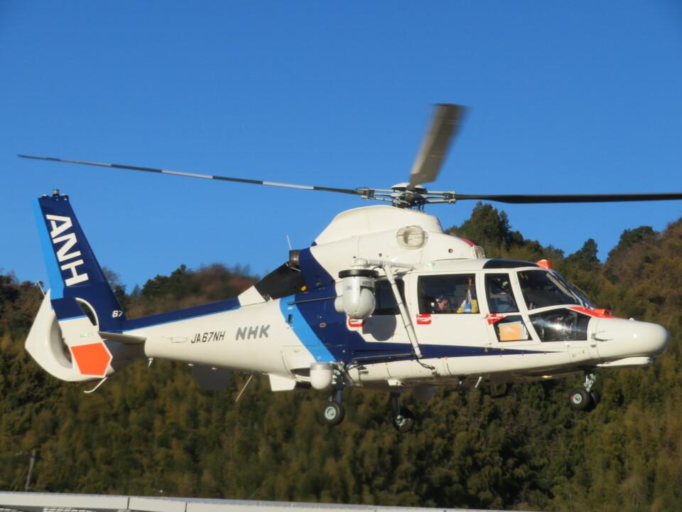 チダ.ニックさんのオールニッポンヘリコプター Airbus Helicopters AS365/565 (JA67NH) 航空フォト