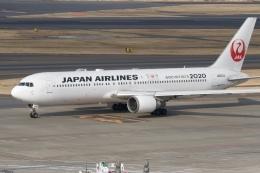344さんが、羽田空港で撮影した日本航空 767-346/ERの航空フォト(飛行機 写真・画像)