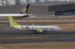 344さんが、羽田空港で撮影したソラシド エア 737-86Nの航空フォト(飛行機 写真・画像)