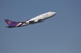 344さんが、羽田空港で撮影したタイ国際航空 747-4D7の航空フォト(飛行機 写真・画像)