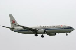 tsubameさんが、福岡空港で撮影した中国国際航空 737-89Lの航空フォト(飛行機 写真・画像)