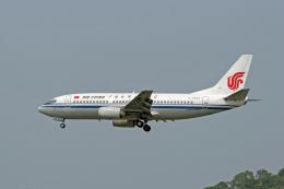 tsubameさんが、福岡空港で撮影した中国国際航空 737-3Z0の航空フォト(飛行機 写真・画像)