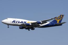 Flankerさんが、横田基地で撮影したアトラス航空 747-45E(BDSF)の航空フォト(飛行機 写真・画像)