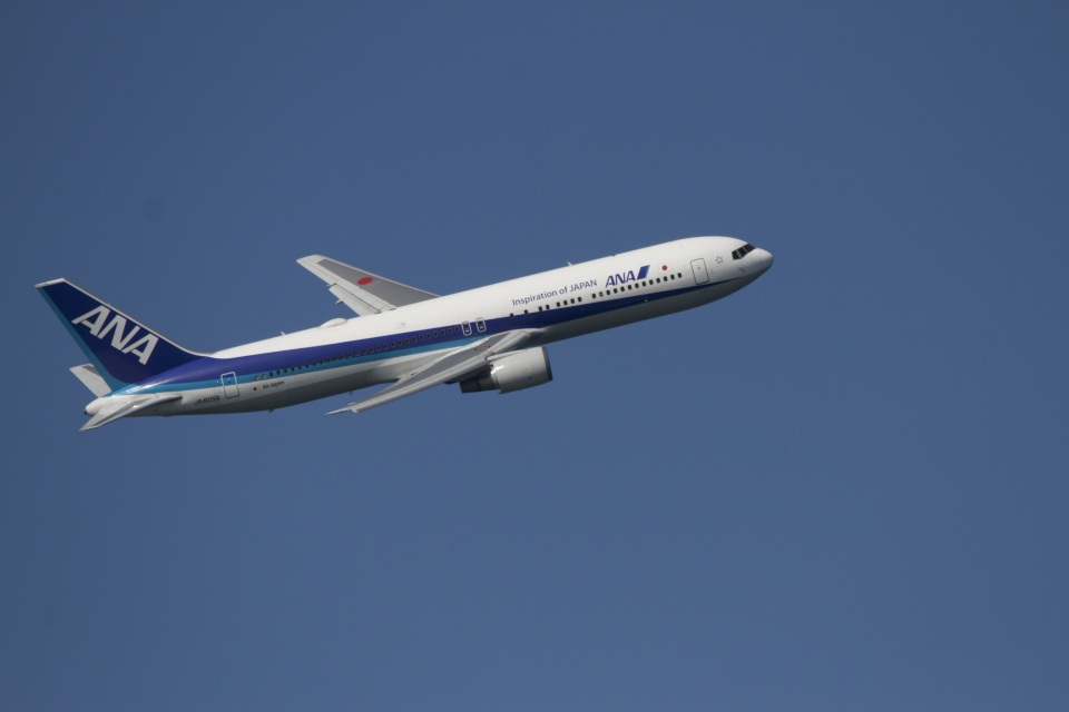 344さんの全日空 Boeing 767-300 (JA605A) 航空フォト