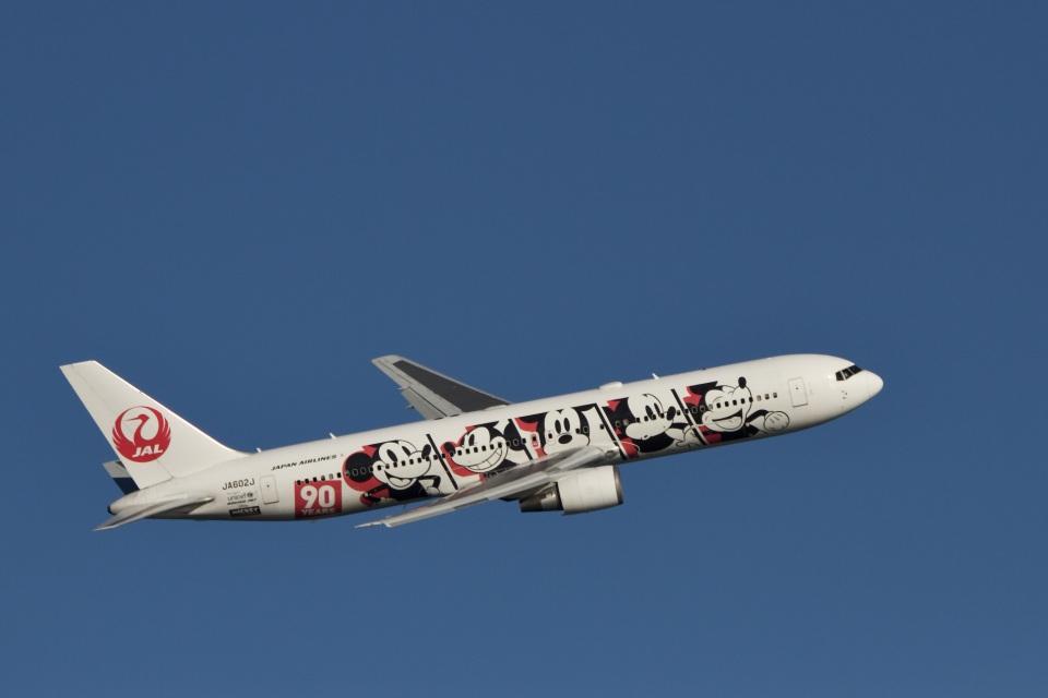 344さんの日本航空 Boeing 767-300 (JA602J) 航空フォト
