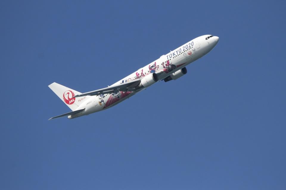 344さんの日本航空 Boeing 767-300 (JA601J) 航空フォト