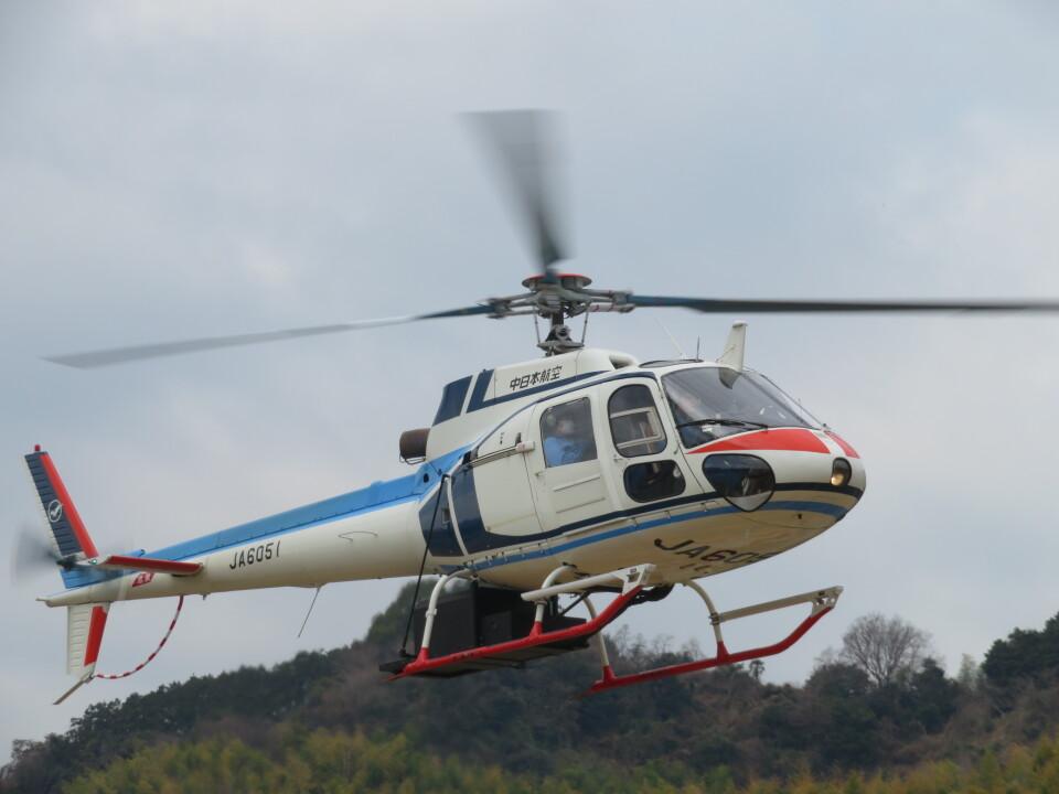 チダ.ニックさんの中日本航空 Aerospatiale AS350 Ecureuil/AStar (JA6051) 航空フォト