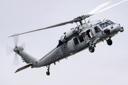 Flankerさんが、厚木飛行場で撮影したアメリカ海軍 MH-60S Knighthawk (S-70A)の航空フォト(飛行機 写真・画像)