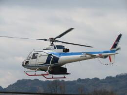 チダ.ニックさんが、静岡ヘリポートで撮影した中日本航空 AS350B Ecureuilの航空フォト(飛行機 写真・画像)