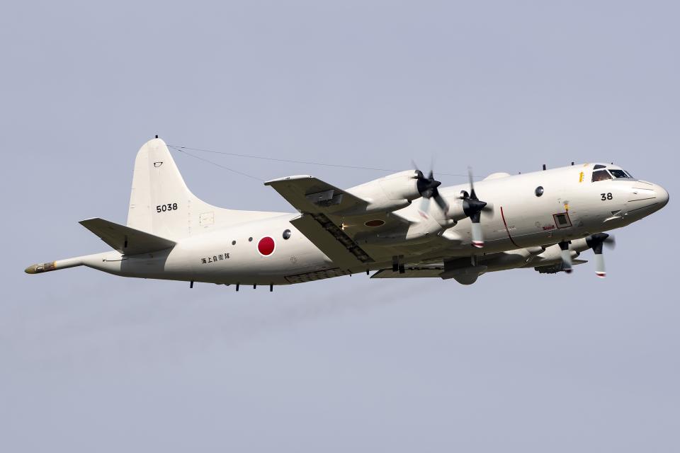 Flankerさんの海上自衛隊 Kawasaki P-3C Orion (5038) 航空フォト
