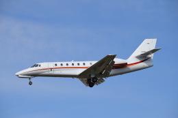 SYさんが、名古屋飛行場で撮影した日本エアロスペース 680 Citation Sovereignの航空フォト(飛行機 写真・画像)